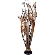 TULIP Modell (4) Stehlampe BALI LAMPE Blütenkelch TULPEN handgefertigt 80cm hoch