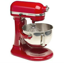 KitchenAid Stand Mixer 475 -W 10-Speed 5-Quart RKg25hOXER Red Professional HD