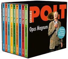 Gerhard Polt Opus Magnum Jubiläumsausgabe 9 x CD Box Werkschau