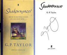 G.P. Taylor~SIGNED~Shadowmancer~UK Special Ed~1st/1st