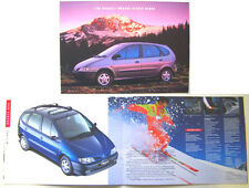 Renault Megane Scenic RXE RT RN 1997-99 UK Brochure