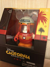 """Red Car Trolley 717 Cars Land Grand Opening California Adventure 3"""" Vinylmation"""