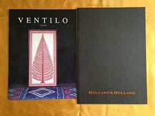 catalogues de mode VENTILO et HOLLAND & HOLLAND