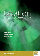 Taxation: Incorporating the 2009 Finance Act (2009/10), Richard Andrews & Alan C