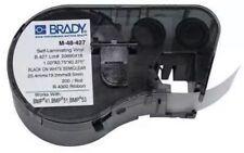Brady M 48 427 Wire Marker Labelblackwhiteclear