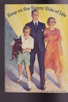 Keep on the Sunny Side of Life 1933 WK Kellogg Booklet A New Way of Living