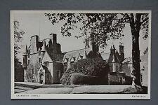 R&L Postcard: Scotland Lauriston Castle Edinburgh, Norward Inglis