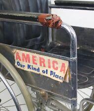 AMERICA Our Kind Of Place Forrest Gump Lt. Dan Bumper Sticker!  Vintage Vietnam