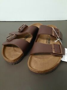 Birkenstock Women's Arizona Sandals Dark Brown Size 8 / EU 39