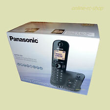 Panasonic Schnurlostelefon KX-TGC220 AB Anrufbeantworter schnurloses Telefon