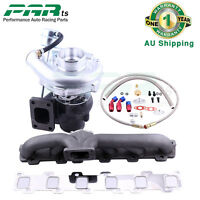 New Turbocharger KIT+TURBO Manifold For Nissan Safari Patrol 4.2L TD42 GQ GU Y60
