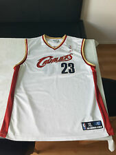 Maillot/jersey Lebron James Cleveland Cavaliers Taille XL Rookie saison, comme neuf