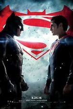 Batman V Superman Dawn of Justice (2016) 27x40 Movie Poster