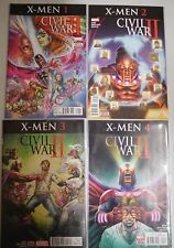 Civil War II X-Men #1 to #4 comic set 2016 Marvel Comics 1st prints Cullen Bunn