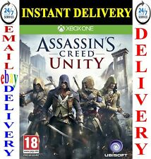 Assassin's Creed Unity Xbox One Full Game Download Instant Dispatch Assassins