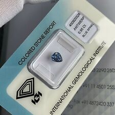 FINE Natural Blue Spinel 0.95ct UNTREATED Pear Cut IGI CERTIFIED Loose Gemstone