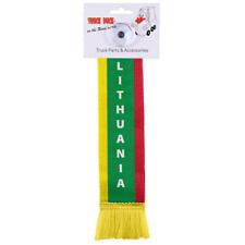 LKW Auto Minischal Lithuania Litauen Mini Schal Wimpel Saugnapf Spiegel Fahne