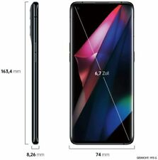 Oppo Find X3 Pro 5G 12/256GB CPH2173 black Dual-Sim ColorOS Smartphone 6,7Zoll