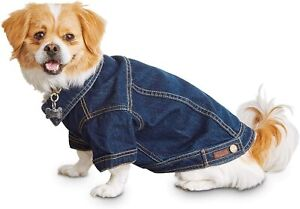 Reddy Denim Trucker Jackets for Dogs NWT