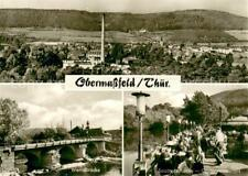 73675759 Obermassfeld-Grimmenthal Panorama Werrabruecke Saathofschenke Gartenres