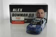 Alex Bowman Autographed 2019 Nationwide Patriotic 1:24 Liquid Color Diecast