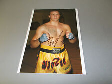 Mairis Briedis WBC boxing signed autograph Autogramm 8x11 inch photo in person