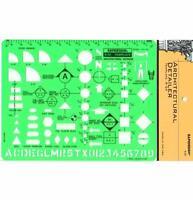 "Berol Rapidesign Template - Architectural Detailer - 1/4"" Scale - R-24"