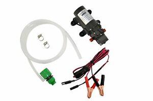 12V 4.3lpm 35psi Pressure Pump, Wiring & Hose Kit. Water Heater Camp Caravan 4wd