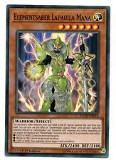 YU-GI-OH CARD:Elementsaber Lapauila Mana - FLOD-EN025 - Super Rare 1st Edition