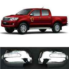 Chrome Side Mirror covers  with LED Lights for TOYOTA HILUX 2012-16