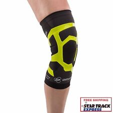 DonJoy Performance TriZone Knee Support Brace With Compression Black Right Medium