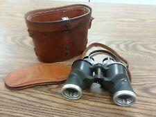 Vtg U.S. Navy Naval Gun Factory Annex 6 x 30 Binoculars Rochester NY w/ Case