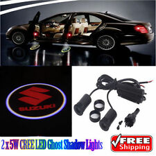2 x 5W LED Ghost Shadow Lights Car Logo Lights Red for Suzuki Swift SX4 S-Cross