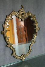 Miroir en bronze de style Rocaille Louis 15