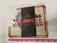 Loot Crate Exclusive Loot Fright Jaws Metal Print Sign Shark Bite