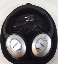 Bose QuietComfort 15 Headphones - Silver QC15 QC-15 Noise cancelling