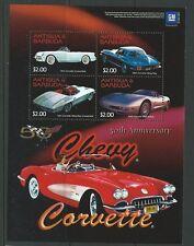 ANTIGUA SGMS3771 2003 50th ANNIV OF GENERAL MOTORS CHEVETTE  MNH