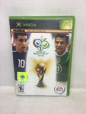 (PL) XBOX FIFA WORLD CUP 2006 GERMANY Video Game COMPLETE WITH MANUAL