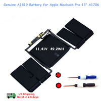 "Genuine A1819 A1706 020-01705 Battery for Apple Macbook Pro 13"" 2016 2017 Retina"