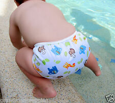 Swim Nappy Baby Cover Reusable Multifit Diaper Pants Nappies Swimmers Jungle