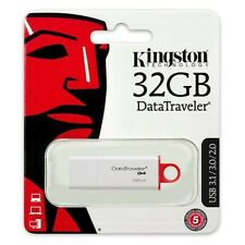 Kingston USB Memory Stick 32GB USB 3.0 / 3.1 Data Traveler G4 Flash Pen Drive