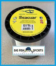 SEAGUAR INVIZX 100% Fluorocarbon Line 12lb/1000yd 12 VZ 1000 FREE USA SHIP!
