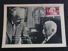 FRANCE Rare FDC 1955 – Les deux frères LUMIERE, oblitération GF LYON (cote 270€)