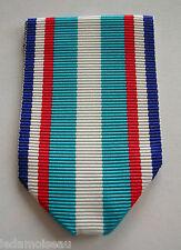 MEDAILLE MILITAIRE: Ruban NEUF plié, pour médaille campagne de Corée en 1952.
