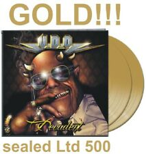 U.D.O. - Decadent 2 LP GOLD Limited Edition 500 copies UDO Accept sealed album