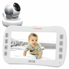 "Axvue E650 Video Baby Monitor, 5.0"" LCD Screen and Pan Tilt Camera, OPEN BOX"