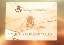España Spain Prueba de lujo 3544C 64A/D 1998 Carnet Rey Juan Carlos I nuevo