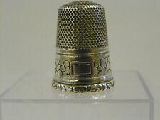 Ancien Dé à coudre en argent /antique french silver thimble