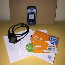 New listing Zte Z222 - Dark Blue Gsm Unlocked Cellular Flip Phone - Excellent Condition