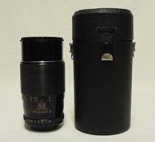 FORTRON f/3.5 200mm Telephoto Lens SLR Film Camera DSLR M42 Pentax Screw w/Case